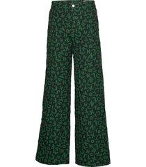 ease trousers wijde broek groen hope