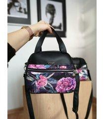 torebka kuferek w kwiaty.