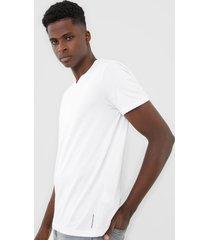 camiseta calvin klein jeans gola v branca