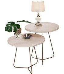 conjunto de mesa decorativo 8004 8005 pérola