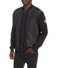 men's canada goose windbridge regular fit sweater jacket