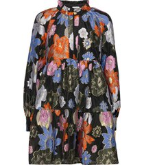 jasmine, 1035 organza korte jurk multi/patroon stine goya