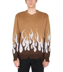 vision of super double flame sweater