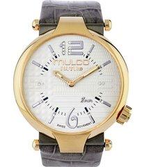 reloj mulco para mujer - couture ladies slim  mw-5-4234-212