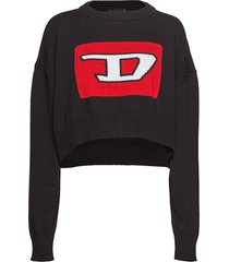 m-linda pullover sweat-shirt trui zwart diesel women