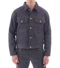edwin kaihara denim jacket - blue - i027676