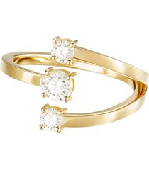 18k yellow gold aria moon ring
