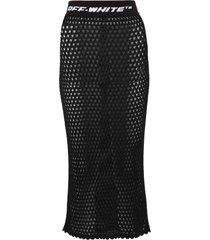 off-white mesh skirt