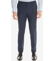 boss men's extra-slim-fit wool dress pants