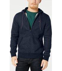 tommy hilfiger men's plains drawstring hoodie