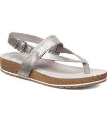 malibu waves thong shoes summer shoes flat sandals silver timberland
