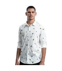 camisa limits capri ml jardim branco