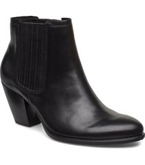 shape 55 western shoes boots ankle boots ankle boots with heel svart ecco