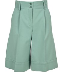 see by chloé see by chloe flared shorts