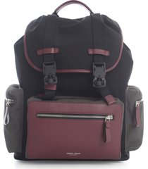 giorgio armani 3 colours backpack