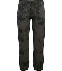 tie-dye woven trousers