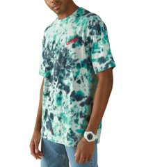 guess men's tie dye t-shirt
