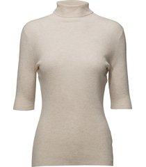 tencel wool roller t-shirts & tops short-sleeved wit filippa k