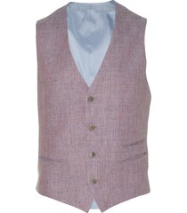 move by digel gilet - slim fit - roze