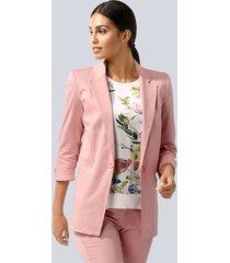 blazer alba moda roze