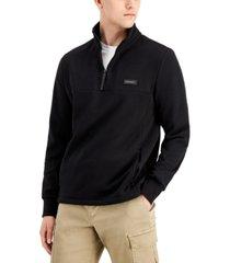 dkny men's quarter-zip hoodie, created for macy's