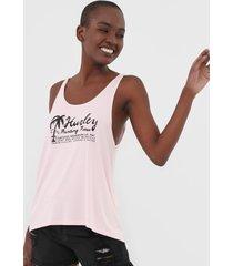 regata hurley lettering rosa