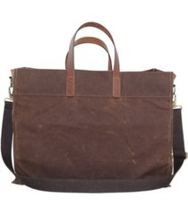 cb station waxed canvas advantage utility tote
