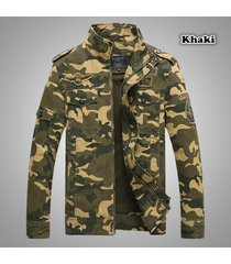 2017 army military jacket men camouflage tactical casual bomber jackets outwear
