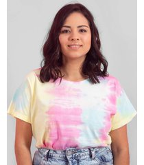 blusa in love t-shirt tiedye candy - kanui