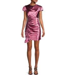 cinq à sept women's nata satin dress - pink - size 2