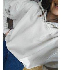 bluza z kapturem white sand soho
