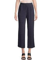dicra crop polka dot pants