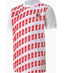 ac milan away stadium shirt, wit/rood, maat 140 | puma