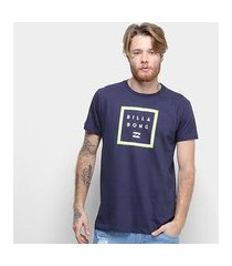 camiseta billabong stacker masculina