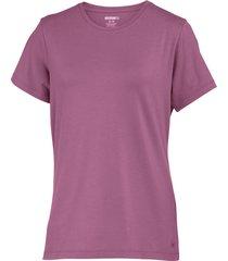 wolverine women's lena short sleeve tee orchid, size m