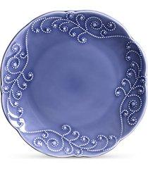 jogo de  pratos ceramica rasos charmonix 6pcs cj6 - kanui