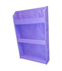 revisteiro prateleira montessoriano organibox - violeta