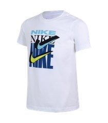 camiseta nike sportswear double swoosh infantil