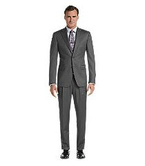 signature gold traditional fit herringbone men's suit - big & tall clearance by jos. a. bank