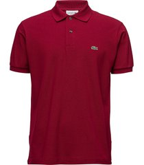 lacoste poloshirt short sleeves polos short-sleeved rood lacoste