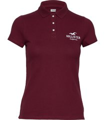 core logo polo t-shirts & tops polos hollister