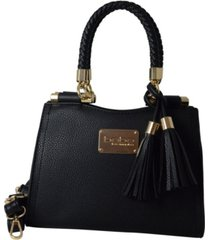 bebe natalie small shopper crossbody