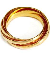 anel horus import 5 fios dourado
