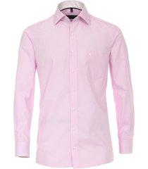 casamoda overhemd subtiele strepen details kent comfort fit