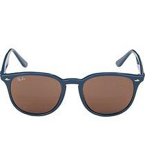 53mm square aviator sunglasses