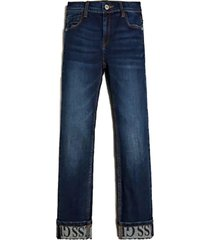 jeans clasicc denim slim pants denim guess