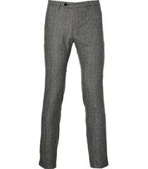 move by digel pantalon - slim fit - grijs
