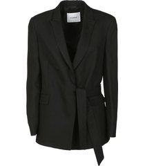 dondup belted blazer