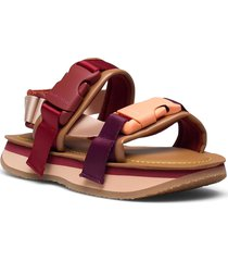 ysee shoes summer shoes flat sandals röd see by chloé