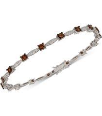 le vian chocolatier diamond link bracelet (2-3/8 ct. t.w.) in 14k white gold